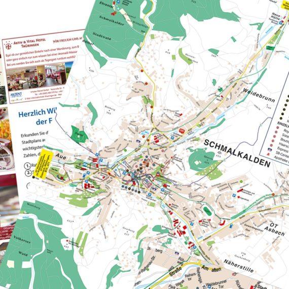 Stadtplan Schmalkalden