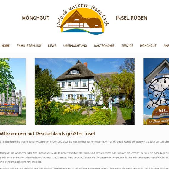 Rohrhus Rügen